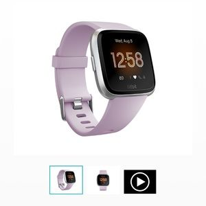 Fitbit versa lite with extra bands small